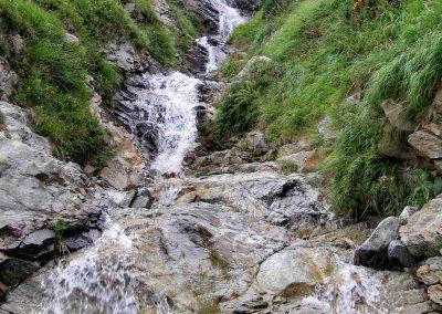 Šarafiový vodopád.