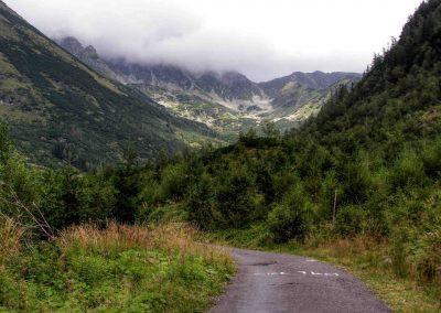Cesta na Žiarsku chatu.