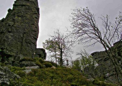 Kláštorská skala.