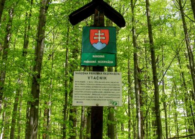 Vtáčnik je 200 ha prírodnej rezervácie.