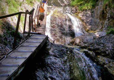 Terchovské vodopády.