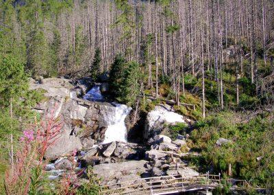 Veľký vodopád Studeného potoka.
