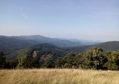 Výhľad z Hnilickej Kýčery v lúčanskej Malej Fatre.