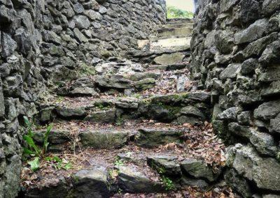 Hradné schody.