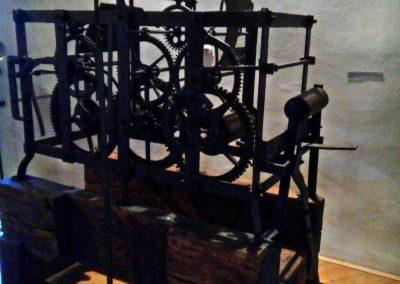 Budatínsky hrad - hodinový stroj