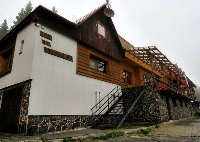 Nová chata na Kubínskej holi.