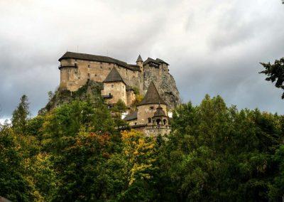 Oravský hrad.