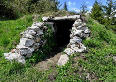 Partizánsky bunker na Kráľovej studni.