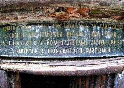 V partizánskom bunkri na Jankovom vŕšku