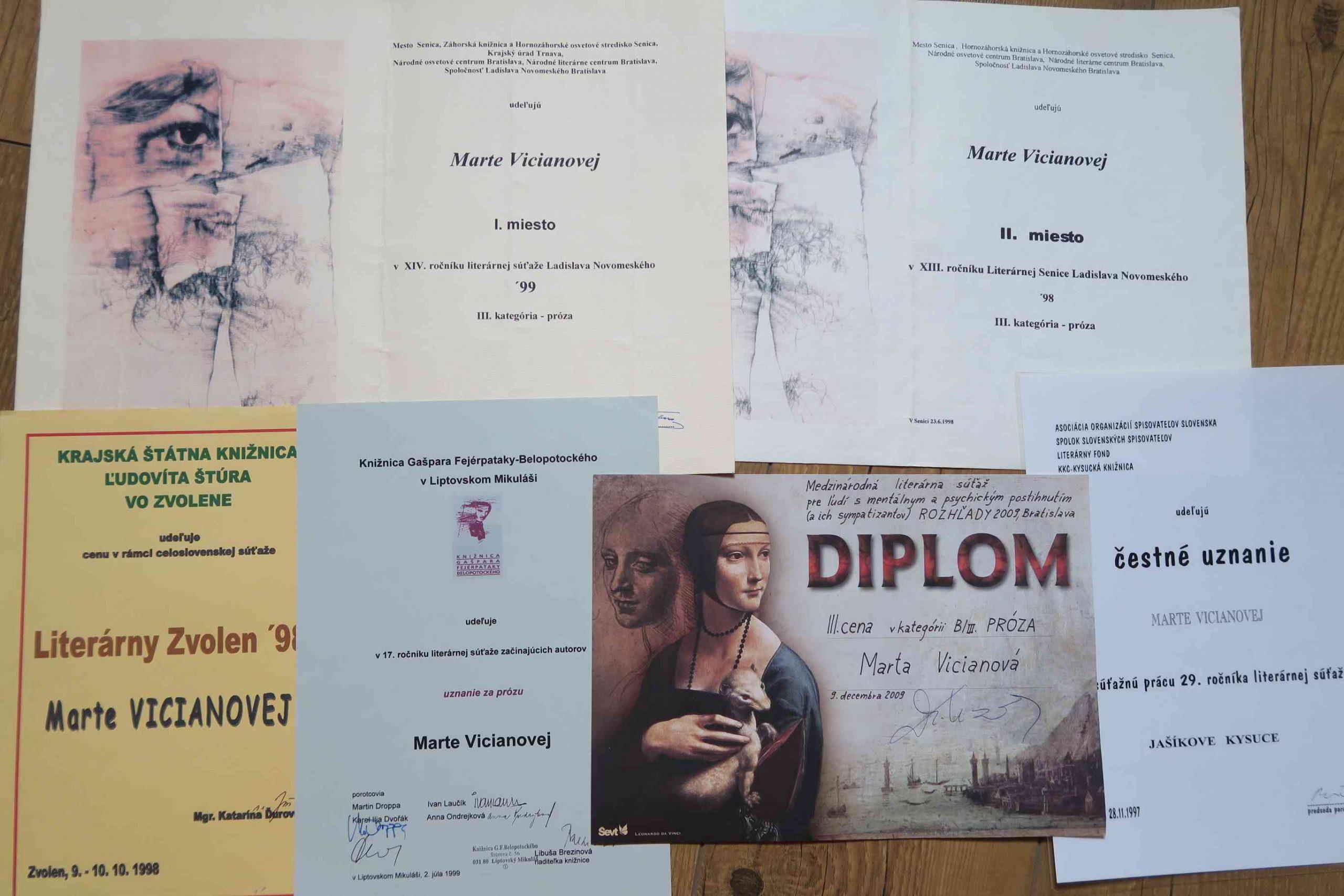 Som ako mnohí a predsa originál - Marta Kasmanová.
