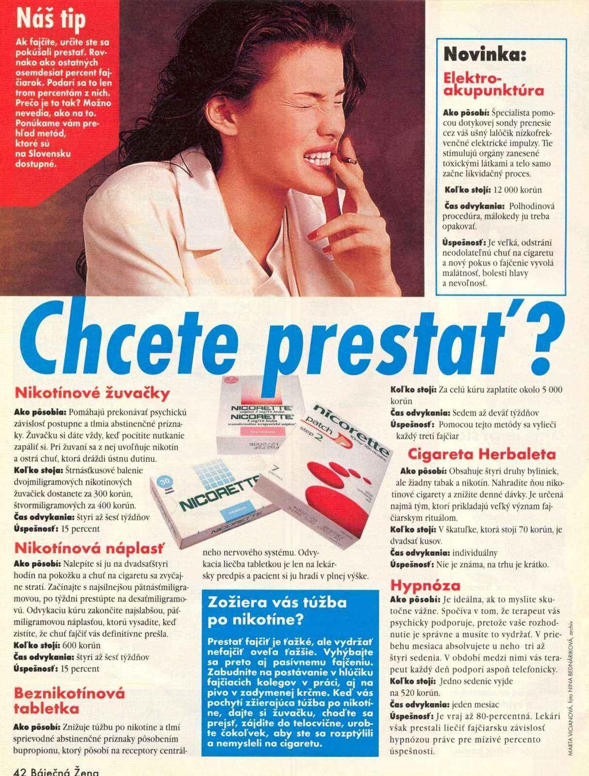 Zdravie: Chcete prestať fajčiť